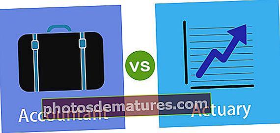 Comptable vs Actuari