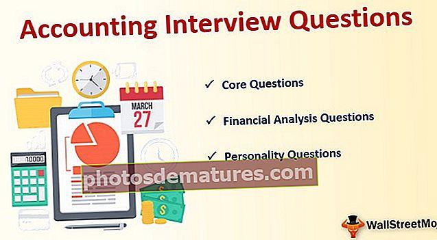 Preguntes d'entrevistes comptables