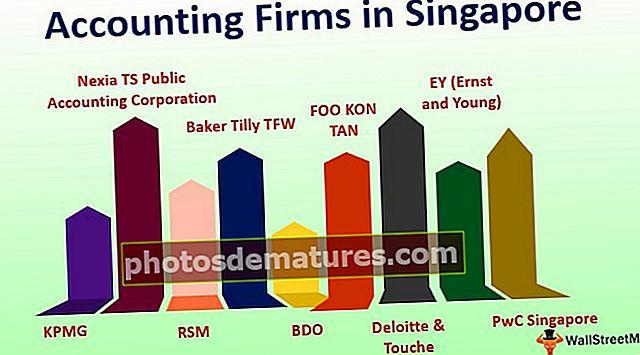 Empreses de comptabilitat a Singapur