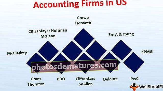 Empreses comptables als EUA