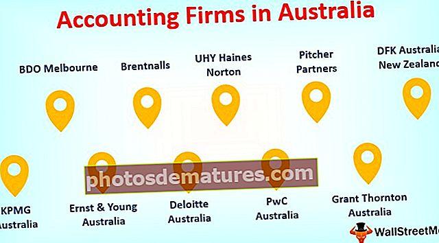 Empreses comptables a Austràlia