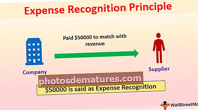 Principi de reconeixement de despeses
