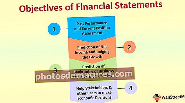 Objectius dels estats financers