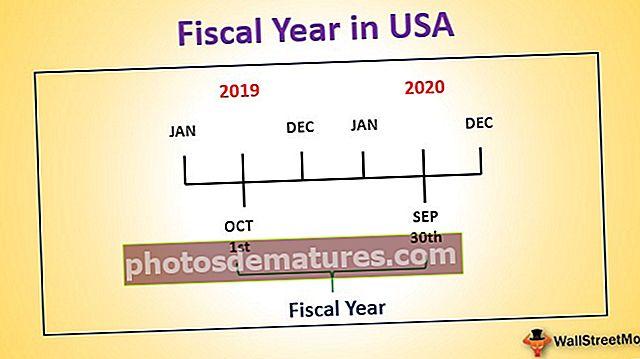 Any fiscal als EUA