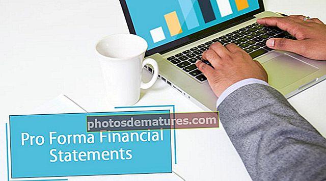 Estats financers Pro Forma