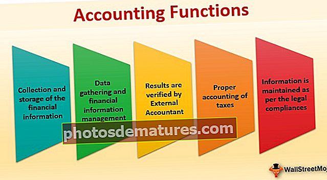 Funcions comptables