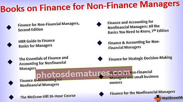 Књиге о финансијама за нефинансијске менаџере