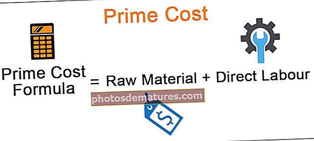Cost principal