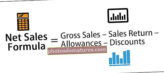 Fórmula de vendes netes