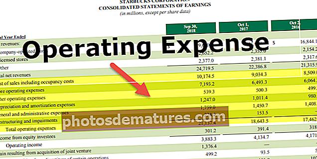 Despeses d'explotació (OPEX)