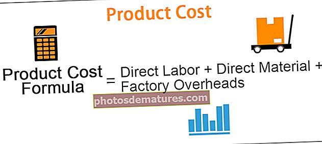 Cost del producte