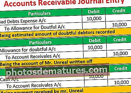 Entrada de diari de comptes a cobrar