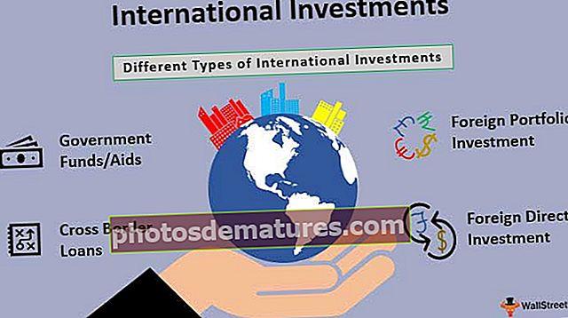 Inversions internacionals