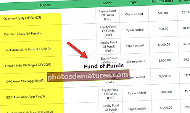 Фонд фондова (ФОФ)