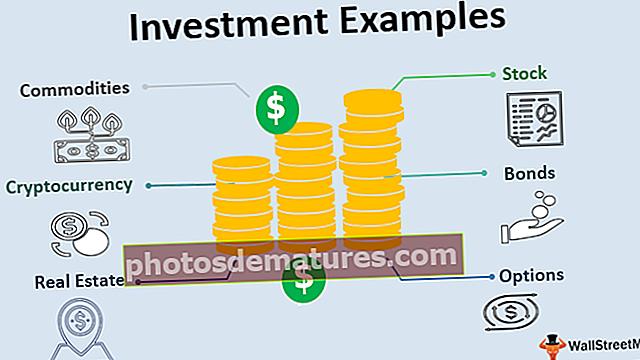 Exemples d'inversió