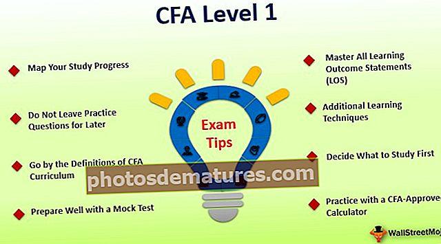 CFA® Nivell 1 pla d'estudi, temes, tarifes d'aprovació i consells
