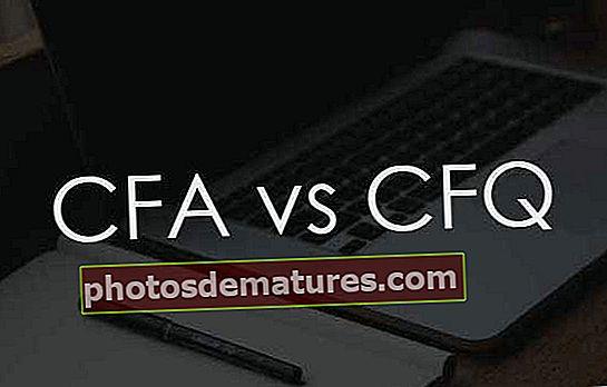 CFA vs CFQ