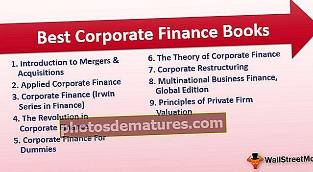 Els 9 millors llibres de finançament corporatiu