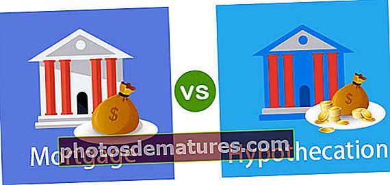 Diferència entre hipoteca i hipotecació