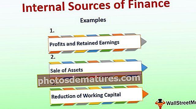 Fonts internes de finançament