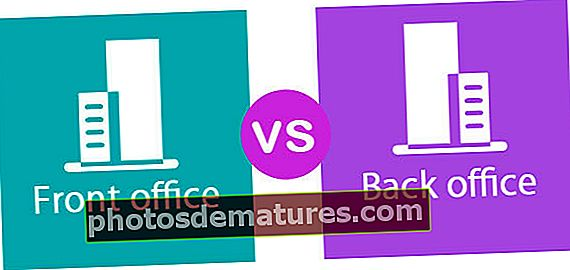 Front Office contra Back Office