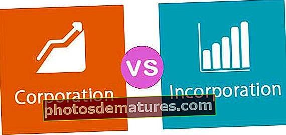 Corporació vs Incorporació