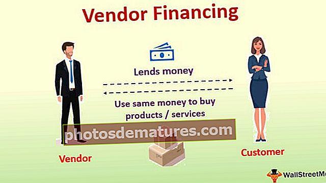 Finançament del proveïdor