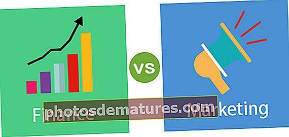 Finances vs Màrqueting