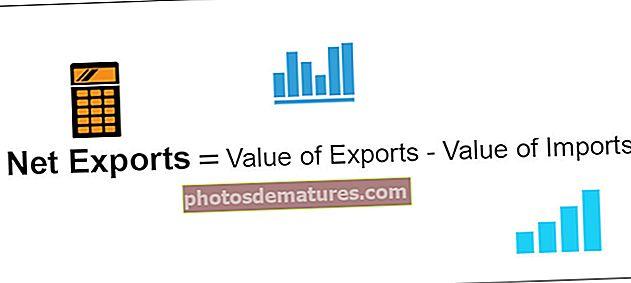 Exportacions netes