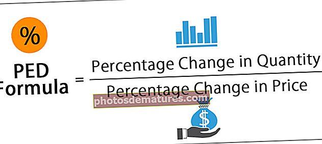 Fórmula de l'elasticitat del preu de la demanda