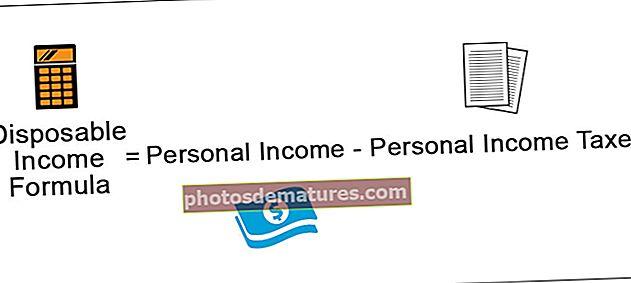 Fórmula de la renda disponible