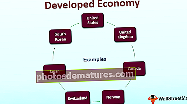 Economia desenvolupada