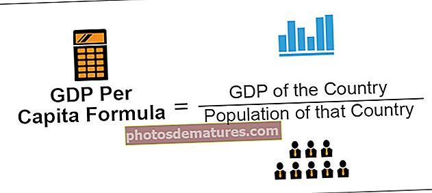Fórmula del PIB per càpita