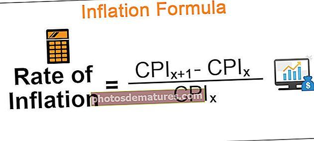 Fórmula d'inflació