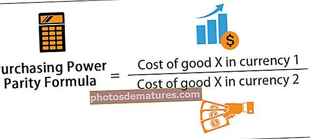 Fórmula de paritat de poder de compra
