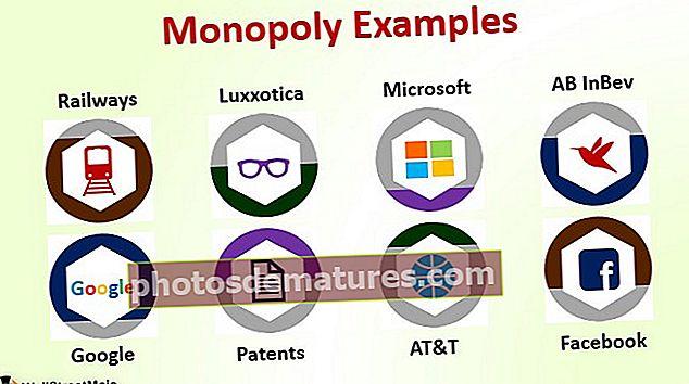 Exemples de monopoli