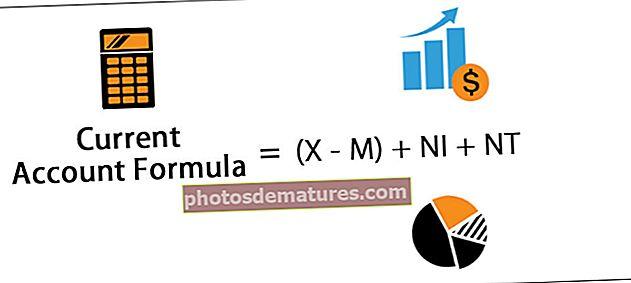 Fórmula del compte corrent