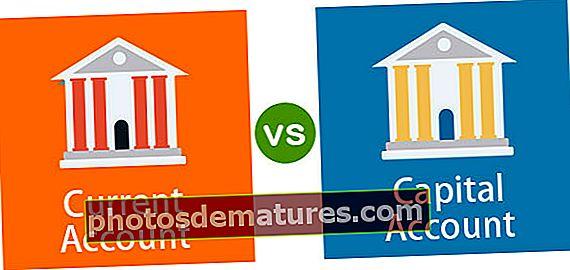 Compte corrent vs Compte de capital