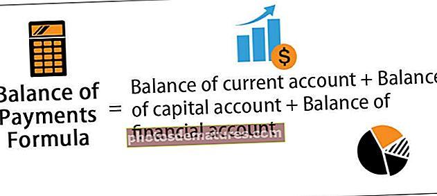 Fórmula de la Balança de Pagaments