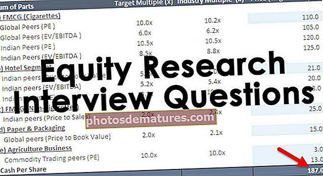 Preguntes d'entrevistes sobre investigació de renda variable (amb respostes)
