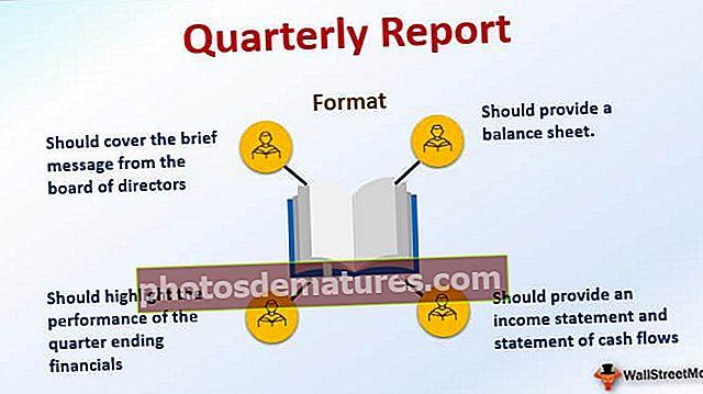 Informe trimestral