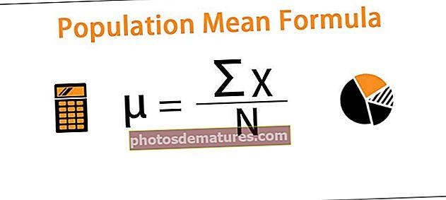 Fórmula mitjana de la població