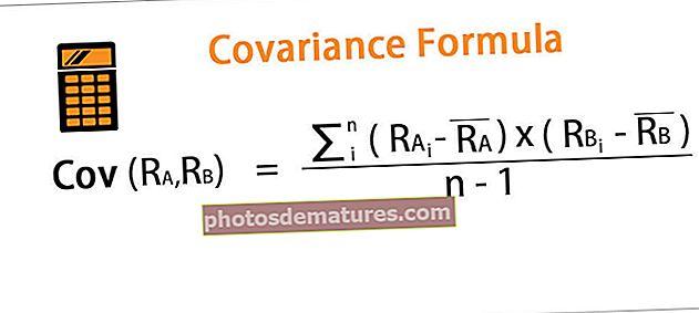 Fórmula de covariància