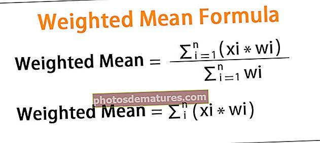 Fórmula mitjana ponderada