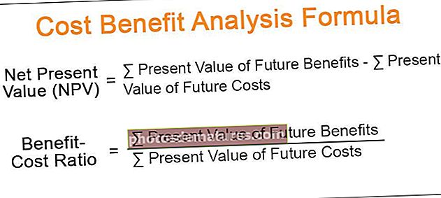 Fórmula d'anàlisi cost-benefici