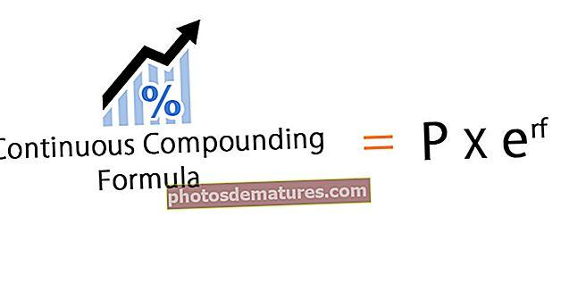 Fórmula de composició contínua