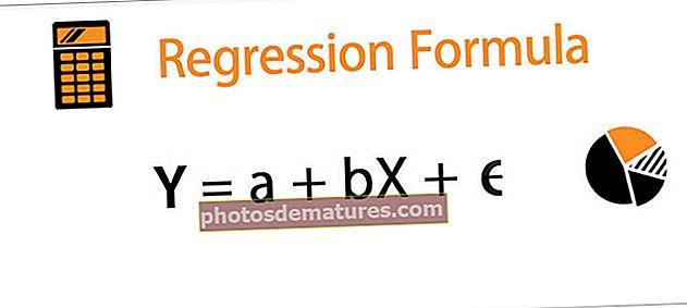 Fórmula de regressió