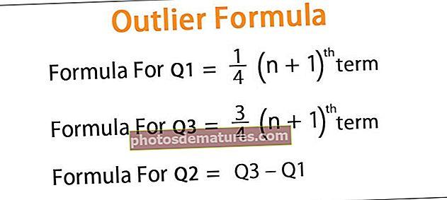 Fórmula Outlier
