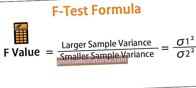 Fórmula F-Test