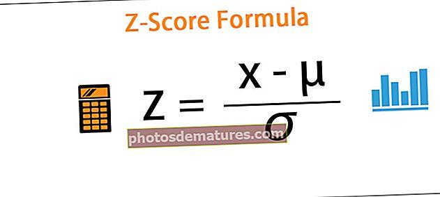 Fórmula de puntuació Z